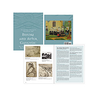 48-page, full-color museum exhibit catalog in both French and English with over 60 museum exhibit illustrations.
